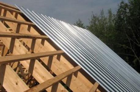 Toiture en métal et acier galvanisé